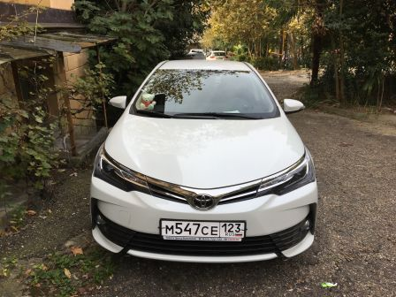 Toyota Corolla 2016 - отзыв владельца