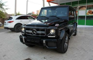 Mercedes-Benz G-Class, 2016