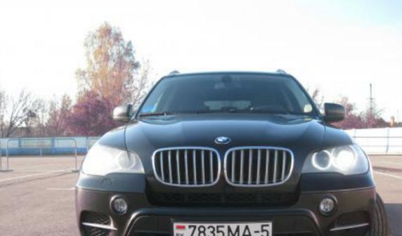 BMW X5 2012 - отзыв владельца