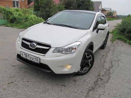 Subaru XV 2012 - отзыв владельца