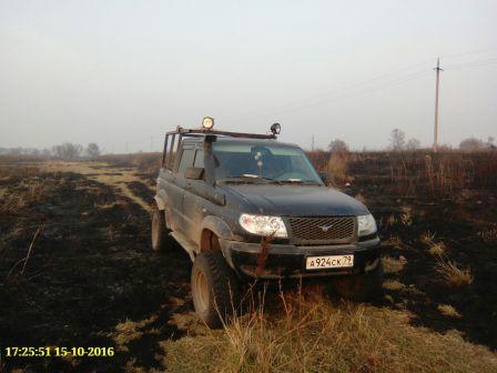 УАЗ Патриот Пикап 2010 - отзыв владельца