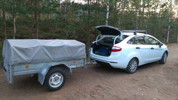 Ford Fiesta 2015 - отзыв владельца
