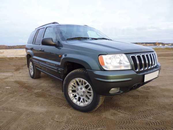 Jeep Grand Cherokee, 2002 год, 470 000 руб.