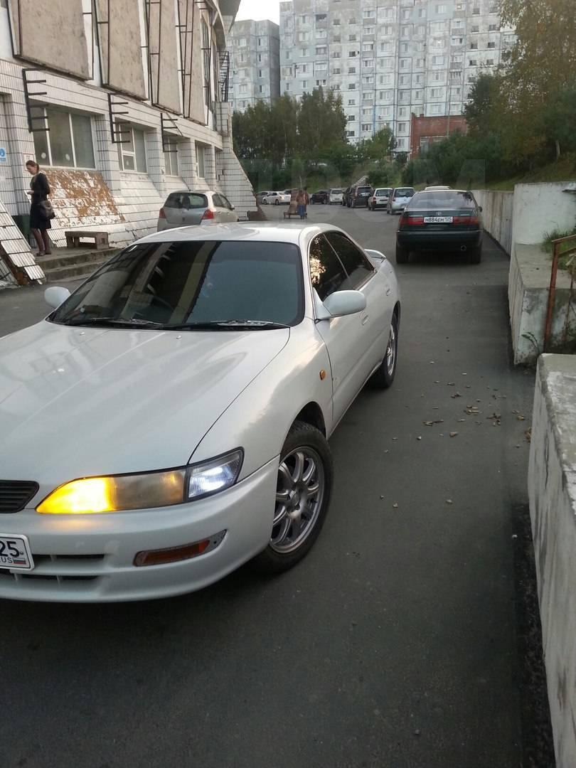toyota carina ed 1994 габариты