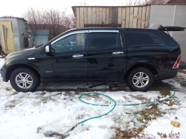 SsangYong Actyon Sports, 2008 год, 465 000 руб.