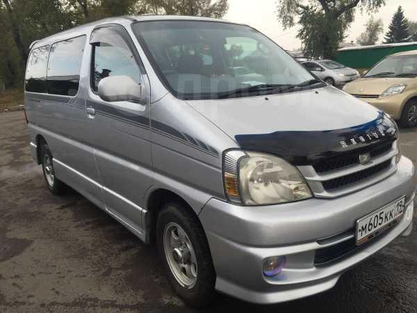 Toyota Touring Hiace, 2001 год, 575 000 руб.