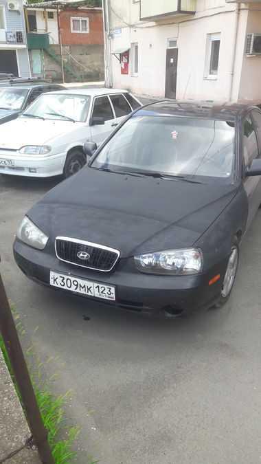 Hyundai Elantra, 2002 год, 140 000 руб.