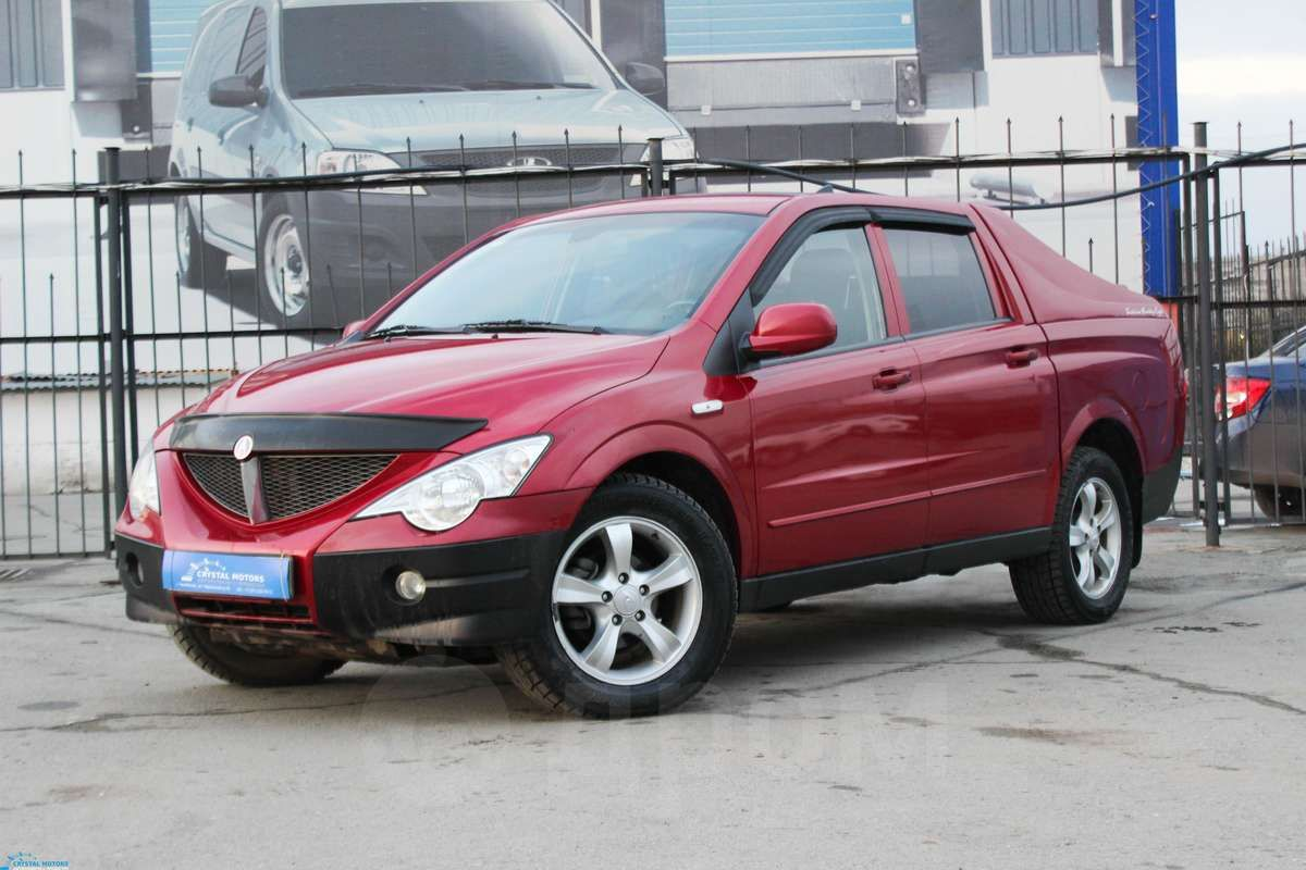 Ssangyong actyon дизель запчасти