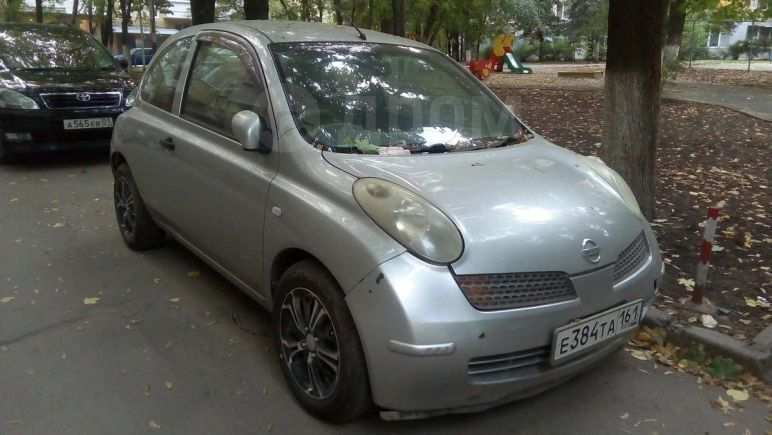 Nissan March, 2002 год, 125 000 руб.