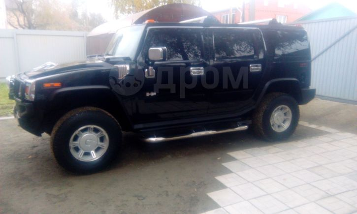 Hummer H2, 2002 год, 1 150 000 руб.