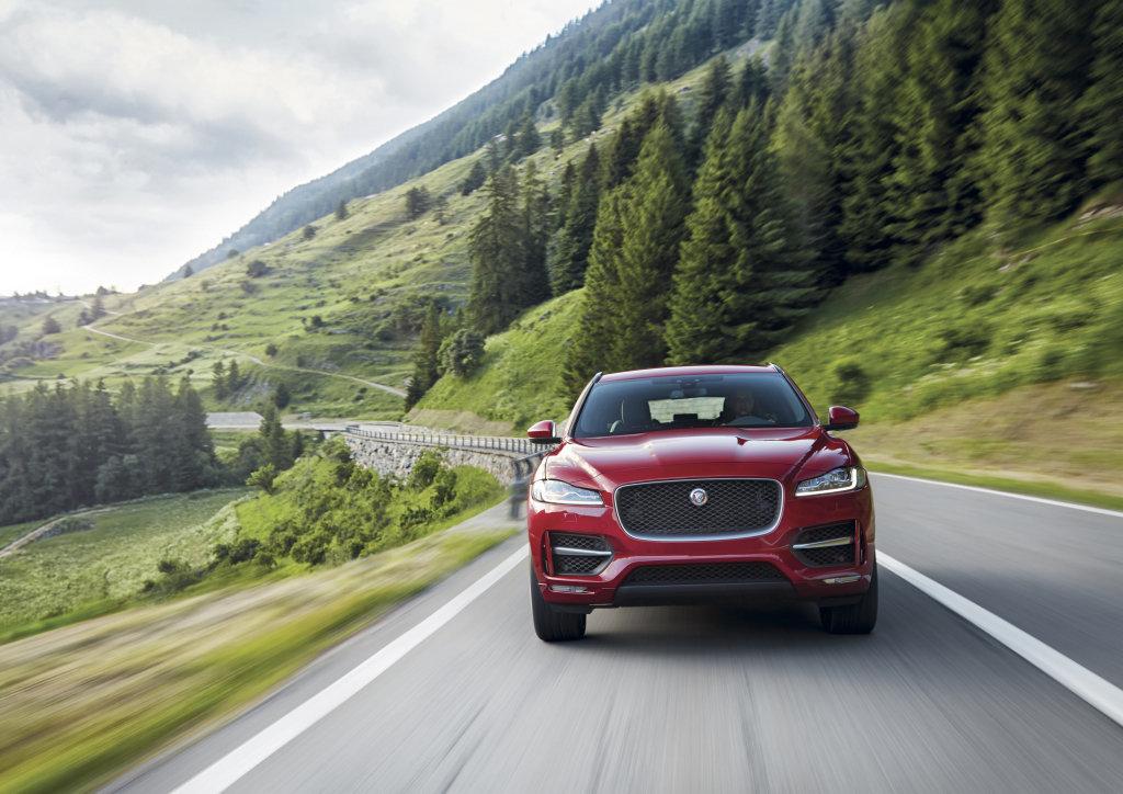 Специальное финансовое предложение для Jaguar F-Pace: кредит 8,9 ...