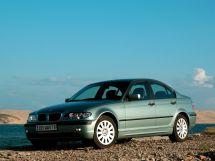 BMW 3-Series рестайлинг, 4 поколение, 09.2001 - 11.2005, Седан