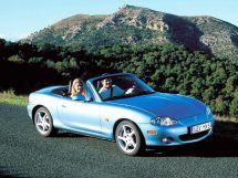 Mazda MX-5 рестайлинг 2000, открытый кузов, 2 поколение, NB