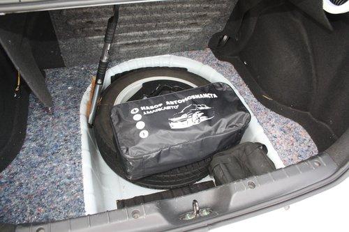 В багажник купили новую сумку, все разложили по своим местам 40facb8a8e5