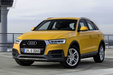 Audi объявила рублевые цены на обновленный Q3