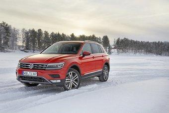 Продажи нового Volkswagen Tiguan в России стартуют в начале 2017 года.