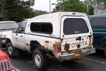 Toyota согласилась заплатить владельцам внедорожников и пикапов за быстро ржавеющие рамы. Свою вину она при этом не признает.