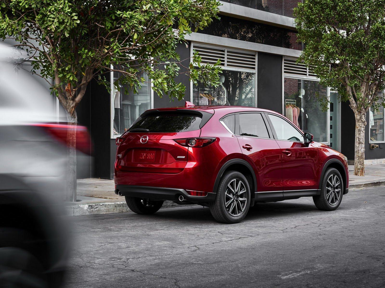 Новинка от японского концерна Mazda – компактный кроссовер CX-5 и его модификации