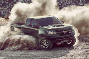 Chevrolet выпустил внедорожный пикап Colorado ZR2