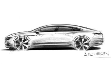Volkswagen заменит Passat CC новой моделью Arteon