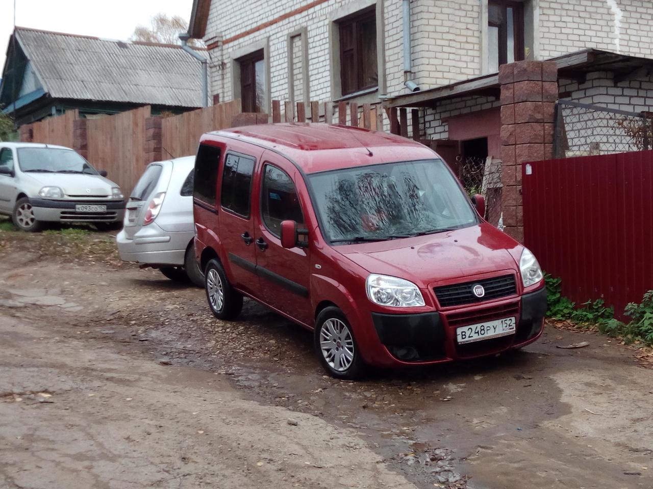 отзывы об автомобиле fiat doblo