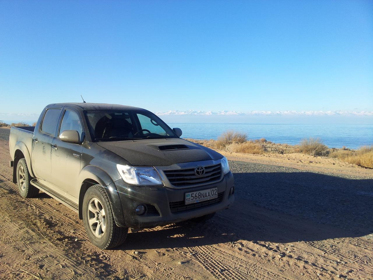Киргизия дорога в Каракол