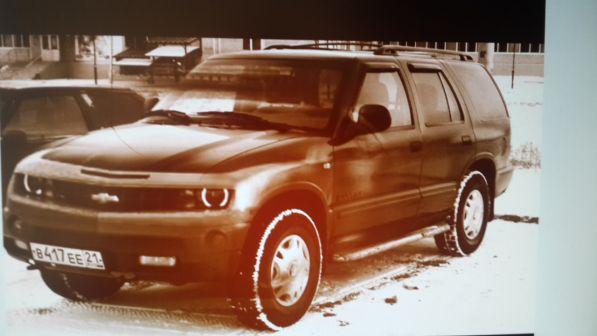Chevrolet Blazer 1995 - отзыв владельца