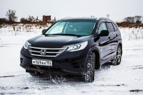 Honda CR-V 2014 - отзыв владельца