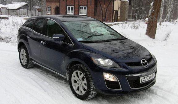 Mazda CX-7 2011 - отзыв владельца