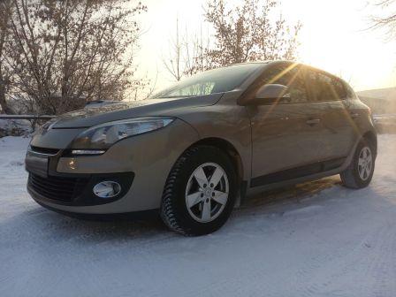 Renault Megane 2013 - отзыв владельца