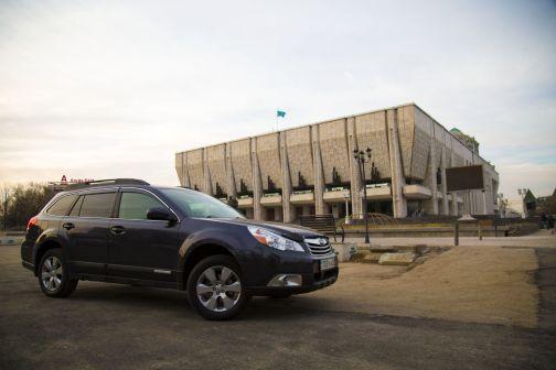 Subaru Outback 2009 - отзыв владельца