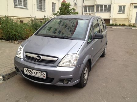Opel Meriva 2008 - отзыв владельца