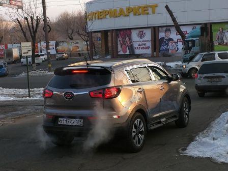 Kia Sportage 2012 - отзыв владельца