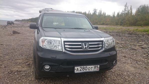 Honda Pilot 2012 - отзыв владельца