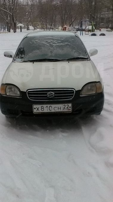 Suzuki Cultus, 2001 год, 65 000 руб.