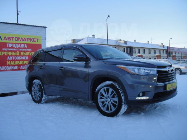 Toyota Highlander, 2014 год, 2 265 000 руб.