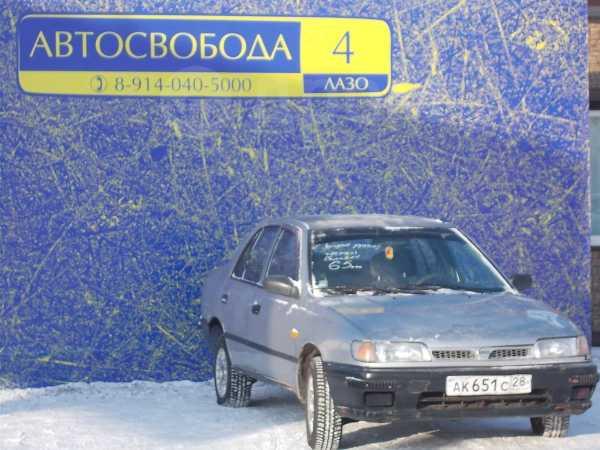 Nissan Sunny, 1993 год, 65 000 руб.