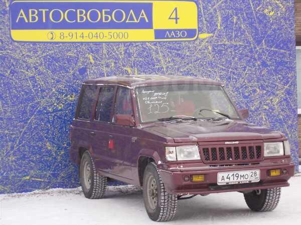 SsangYong Korando, 1992 год, 125 000 руб.