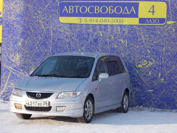 Mazda Premacy, 2002 год, 250 000 руб.