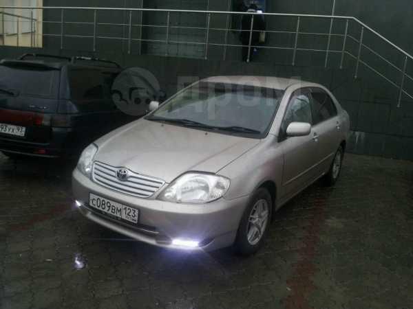 Toyota Corolla, 2002 год, 273 000 руб.