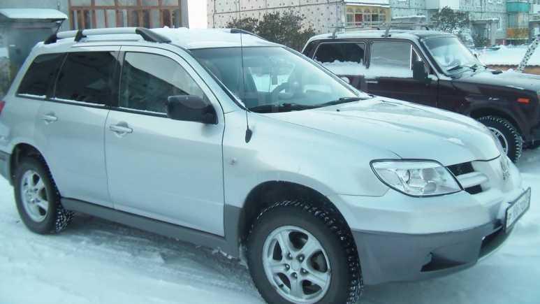 Mitsubishi Outlander, 2002 год, 395 000 руб.
