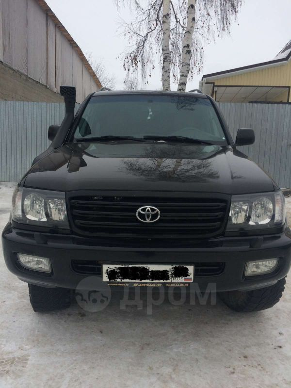 Toyota Land Cruiser, 2001 год, 990 000 руб.