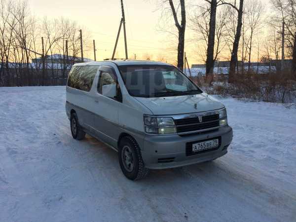 Nissan Elgrand, 1999 год, 228 000 руб.
