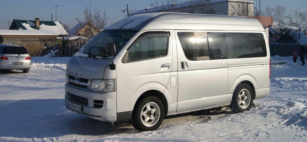 продажа тойота хайс в иркутской области