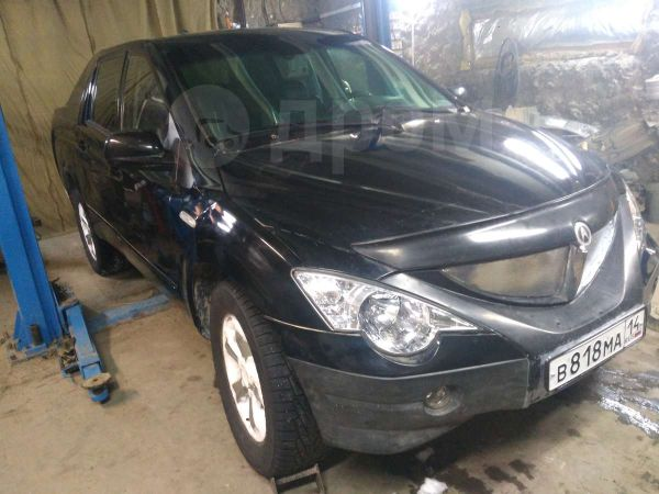 SsangYong Actyon Sports, 2008 год, 350 000 руб.