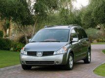 Nissan Quest 3 поколение, 05.2003 - 04.2006, Минивэн