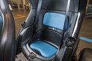 Второй ряд сидений: одноместное сиденье