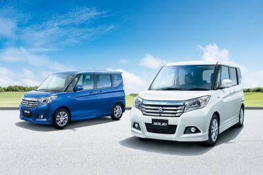 Suzuki добавила в гамму Solio модификацию «параллельный гибрид»
