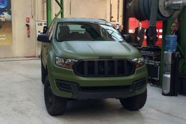 Ford Everest превратили во французский военный внедорожник