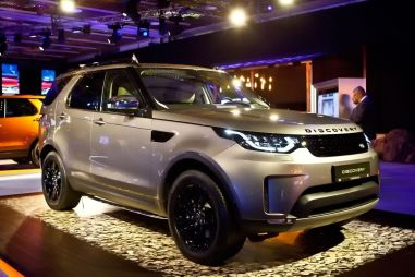 Презентация нового Land Rover Discovery в Москве: начальная цена — 4 млн рублей